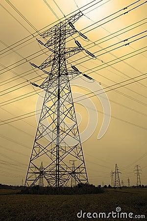 Free Power Transmission Stock Image - 33864861