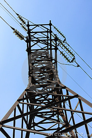 Free Power Transmission Line Stock Images - 10544214