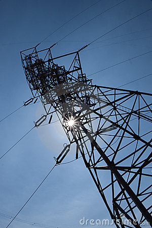 Free Power Transmission Tower Stock Images - 11323904