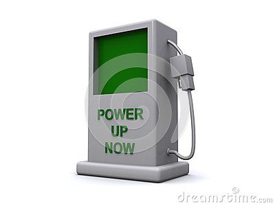 Power up now