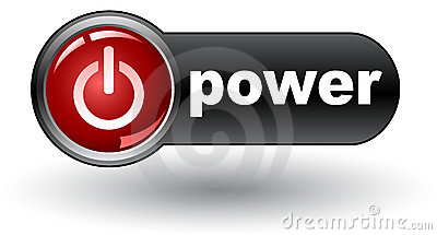 Power on (on) - web button