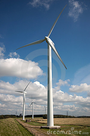 Free Power Windmills Stock Photo - 3059920