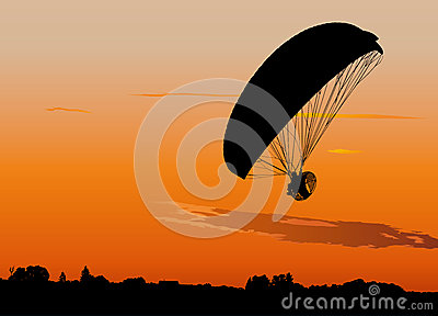 Powered paraglide