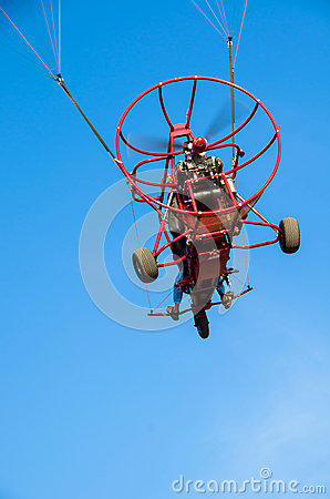 Powered Paraglider vehicle