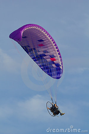 Powered paragliding Editorial Photo