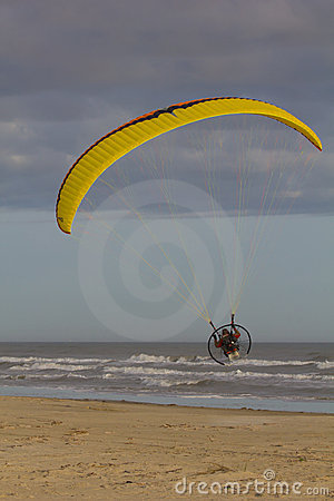 Powered paragliding Editorial Image