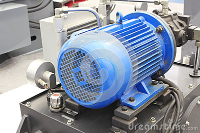 Powerful electric motors for industrial equipment