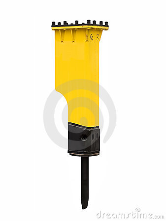 Powerful hydraulic hammer