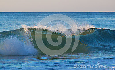 Powerful Wave in Cape Code