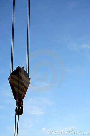 Free Powerfull Crane (detail) - Serie Stock Photography - 579612