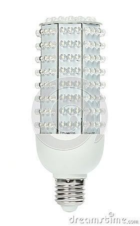 Free Powerfull Energy Saving LED Light Bulb Royalty Free Stock Photography - 14046907