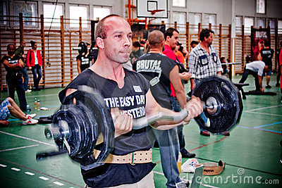 Powerlifting Editorial Photography