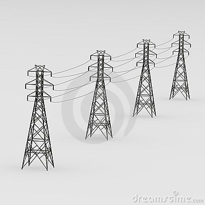 Free Powerline Royalty Free Stock Photos - 10808738