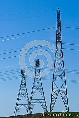 Powerline towers