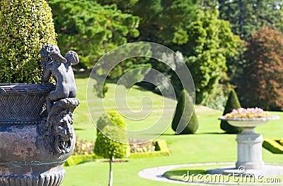 Powerscourt Mansion - Italian Gardens