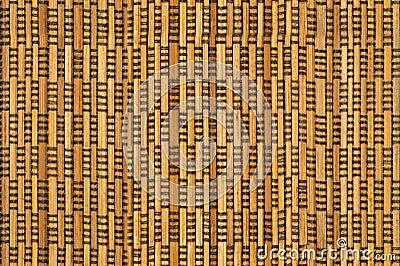 Powierzchnia wattled drewniany