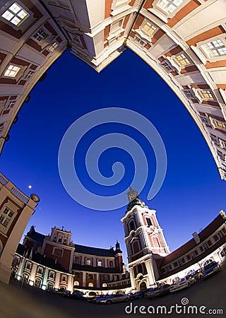Poznan city council Editorial Stock Image