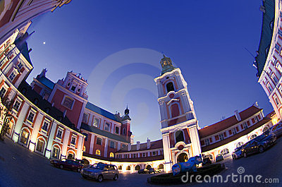 Poznan Old Town Editorial Photo
