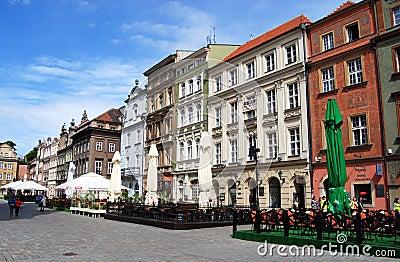 Poznan, Poland: Rynek Market Square Editorial Stock Photo