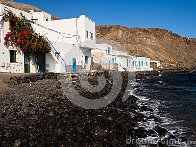 Pozo Negro Fishing Village, Fuerteventura