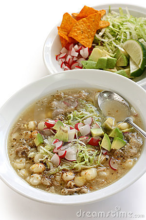 Pozole, mexican cuisine