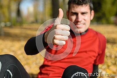 Pozytywny sportowiec