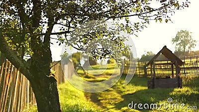 Pozzo del villaggio archivi video