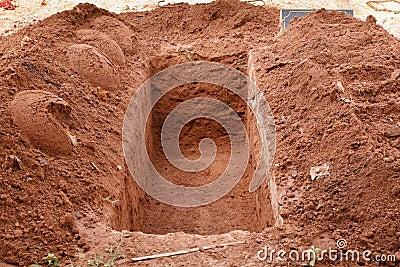 Öppna graven
