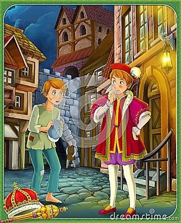 el principe y mendigo: