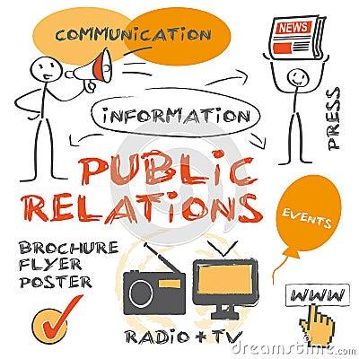 Free PR, Public Relations Stock Photos - 36009333