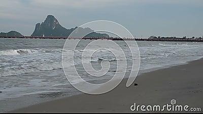 Prachuap- Khiri Khanprovinz, südlich von Thailand stock video footage