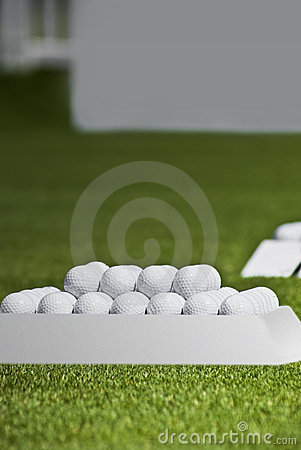 Practice Balls Set and Signage Board