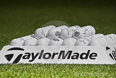Practice Balls - Taylormade - Macro Editorial Photography