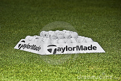 Practice Balls - Taylormade - NGC2009 Editorial Photo
