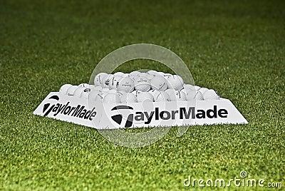 Practice Balls - Taylormade Editorial Photo