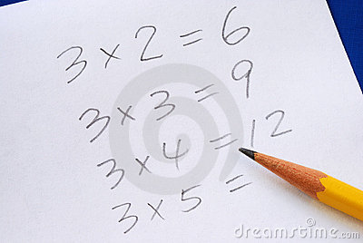 Practice the multiplication table