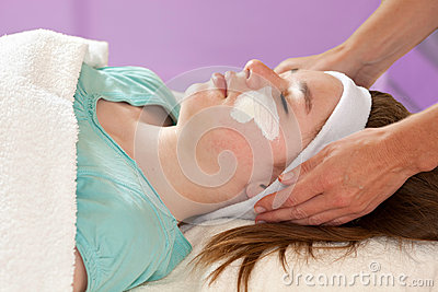 Practitioner Doing Chemical Youth Peel