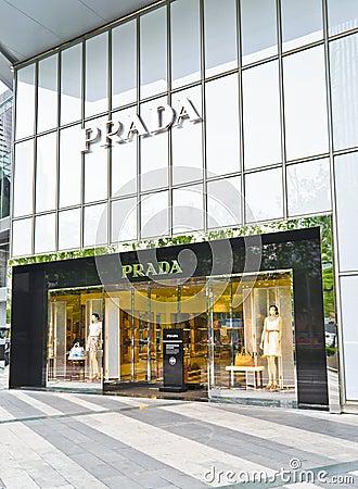 Prada Editorial Photo