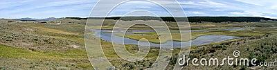Pradaria de Yellowstone