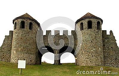 Praetoria gate in Romania