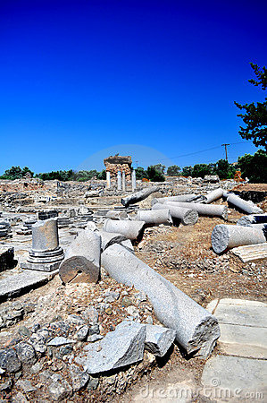 Praetorium. Archaeological site of Gortyn