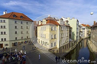 Prague Editorial Stock Image