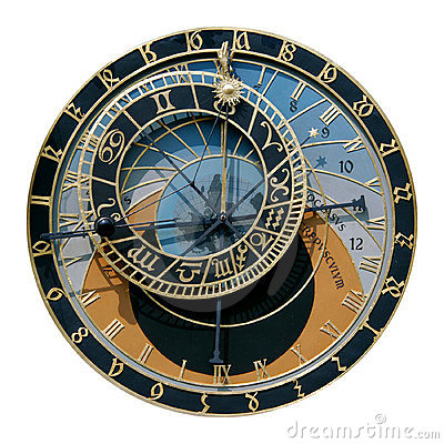 Free Prague Astronomical Clock Royalty Free Stock Image - 762956