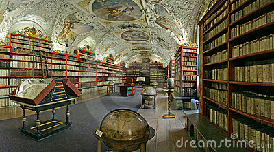 Prague-baroque library
