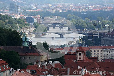 Prague. Beautiful view