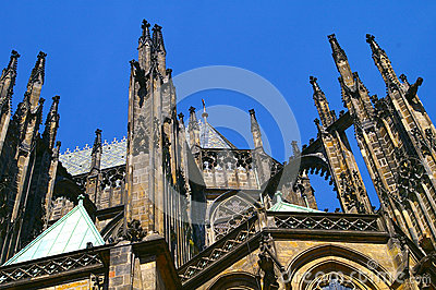 Prague castle cathedral Czech Republic