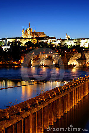 Prague castle-Charles bridge