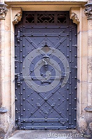Free Prague Castle Door Royalty Free Stock Photo - 2967315