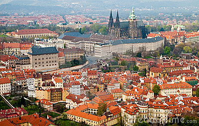 Prague Castle. St Vitus Cathedral