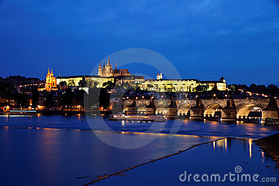 Prague, Charles Bridge and Prague Castle